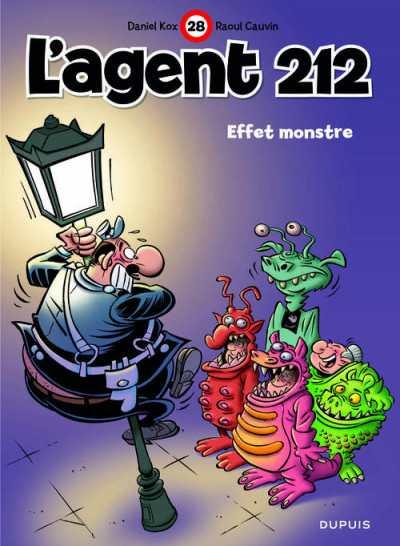 Couverture L'agent 212 tome 28 - effet monstre
