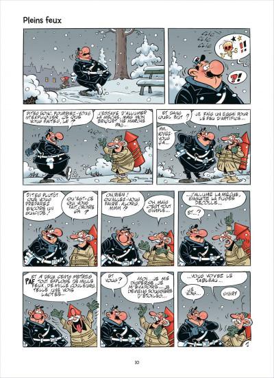 Page 0 L'agent 212 tome 28 - effet monstre