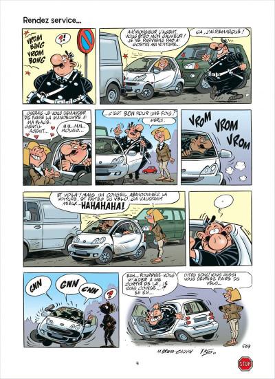 Page 4 L'agent 212 tome 28 - effet monstre