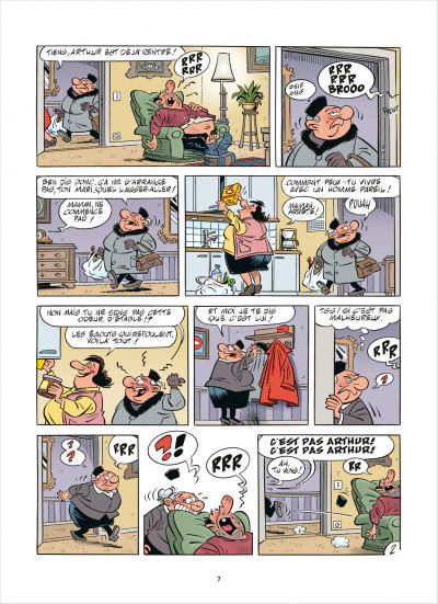 Page 7 L'agent 212 tome 28 - effet monstre