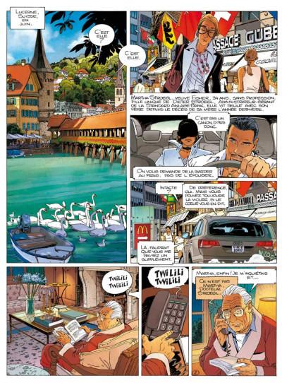 Page 1 Largo Winch T.17 - mer noire