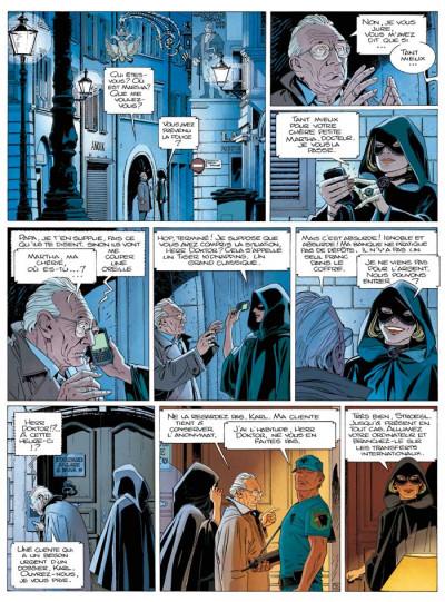 Page 2 Largo Winch T.17 - mer noire