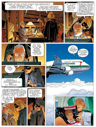 Page 3 Largo Winch T.17 - mer noire