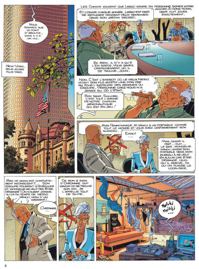 Page 2 Largo Winch - INTEGRALE VOL.8 - T.15 ET T.16 - les trois yeux des gardiens du Tao - la voie et la vertu
