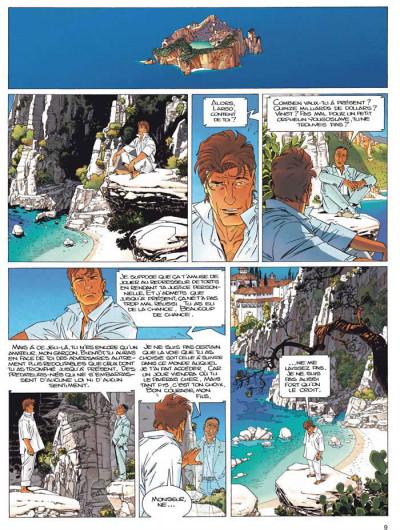 Page 5 Largo Winch - INTEGRALE VOL.8 - T.15 ET T.16 - les trois yeux des gardiens du Tao - la voie et la vertu
