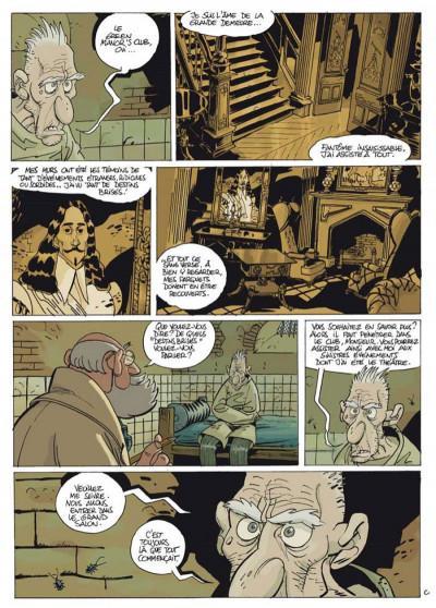 Page 3 green manor ; intégrale ; 16 charmantes historiettes criminelles