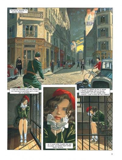 Page 5 Le vol du corbeau - intégrale