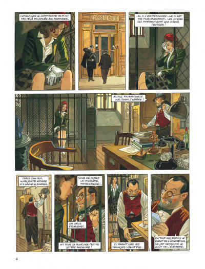Page 6 Le vol du corbeau - intégrale