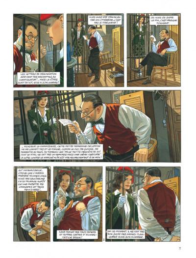Page 7 Le vol du corbeau - intégrale