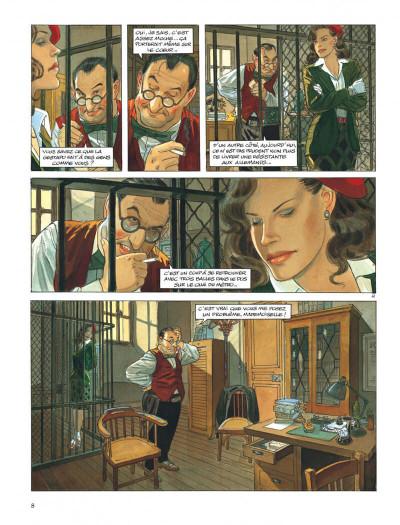 Page 8 Le vol du corbeau - intégrale
