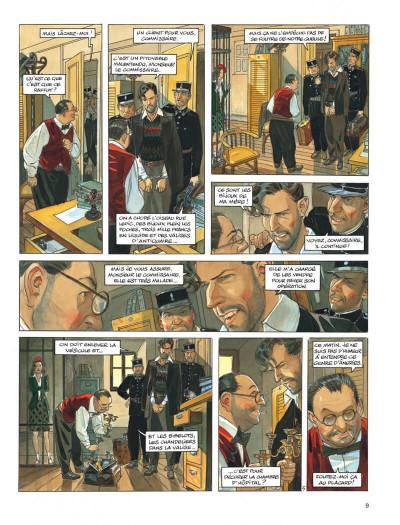 Page 9 Le vol du corbeau - intégrale