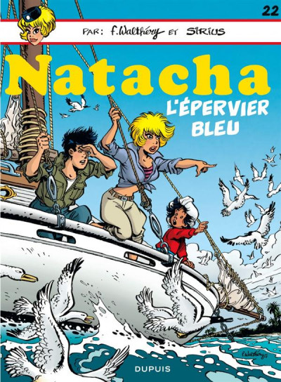 Couverture Natacha tome 22 - l'épervier bleu