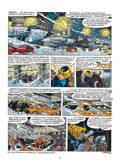 Page 3 Natacha tome 22 - l'épervier bleu
