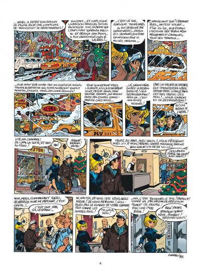 Page 4 Natacha tome 22 - l'épervier bleu