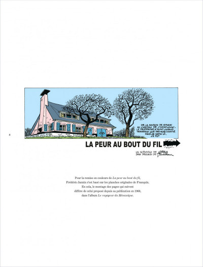 Page 4 Histoire courte tome 3 - La peur au bout du fil