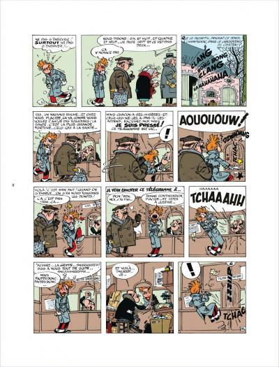 Page 8 Histoire courte tome 3 - La peur au bout du fil