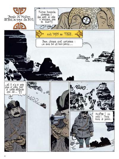 Page 1 le bouddha d'azur ; intégrale