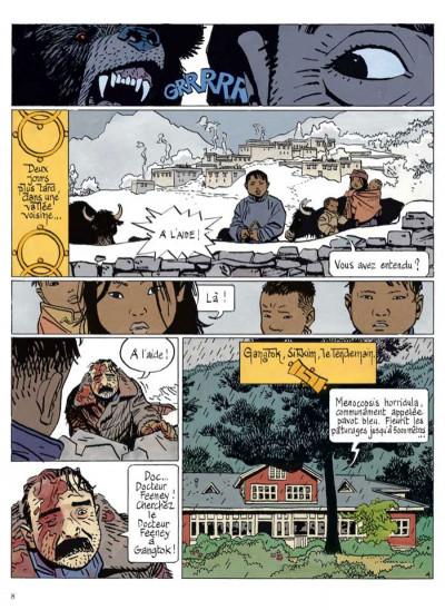Page 3 le bouddha d'azur ; intégrale