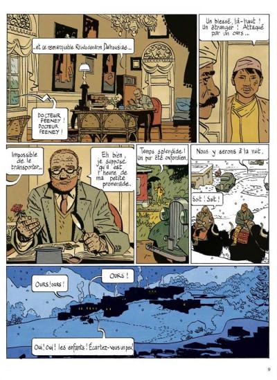 Page 4 le bouddha d'azur ; intégrale
