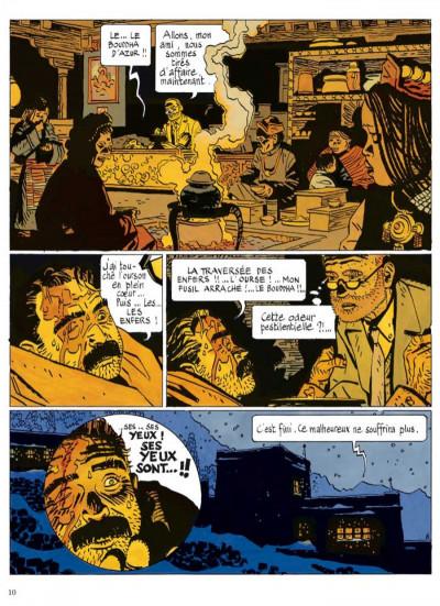 Page 5 le bouddha d'azur ; intégrale