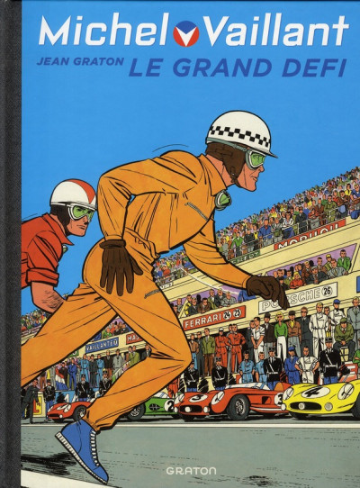 Couverture Michel Vaillant tome 1 - le grand défi
