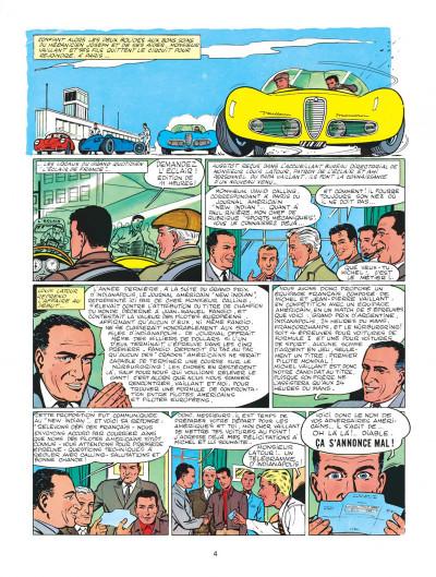 Page 4 Michel Vaillant tome 1 - le grand défi