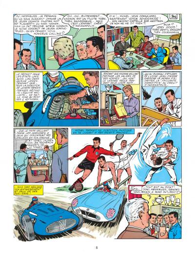 Page 5 Michel Vaillant tome 1 - le grand défi