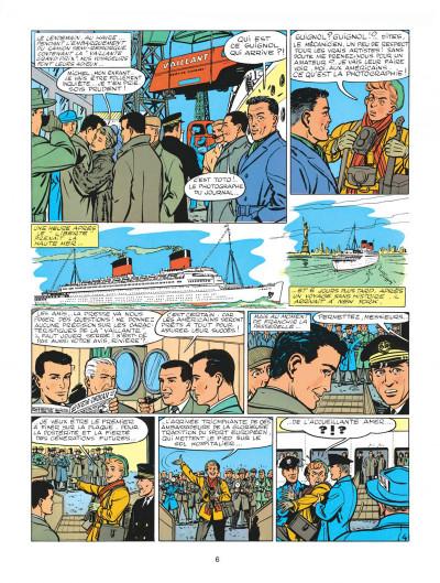 Page 6 Michel Vaillant tome 1 - le grand défi
