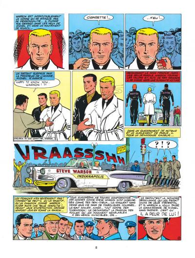 Page 8 Michel Vaillant tome 1 - le grand défi