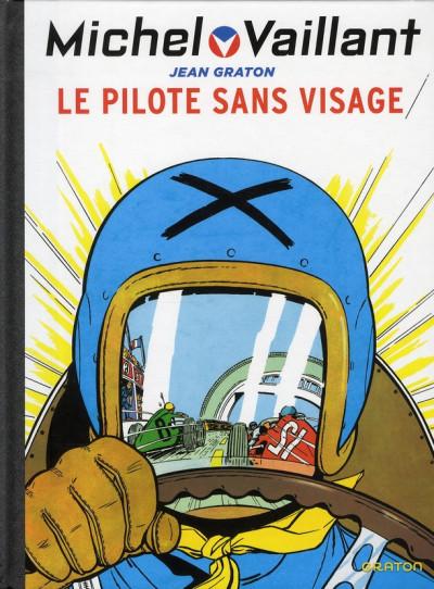 Couverture Michel Vaillant tome 2 - le pilote sans visage