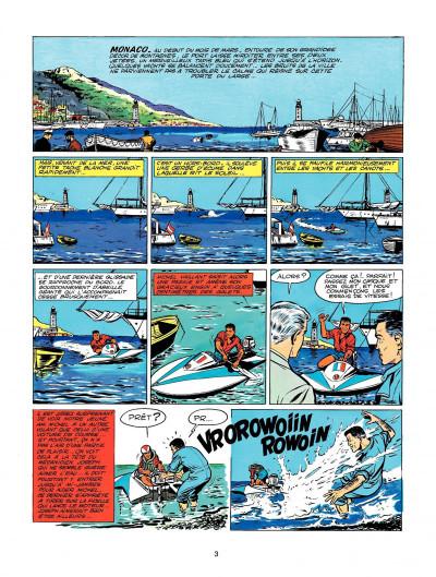 Page 1 Michel Vaillant tome 2 - le pilote sans visage