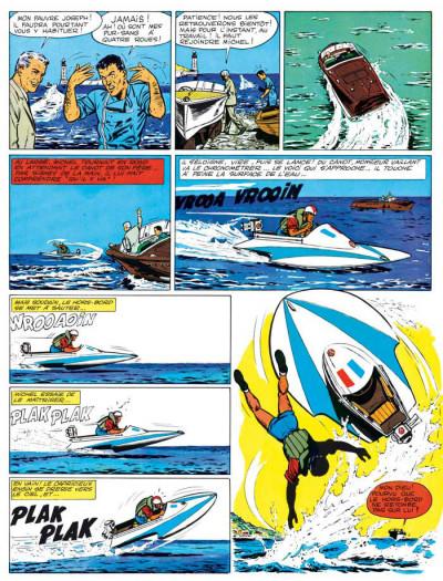 Page 2 Michel Vaillant tome 2 - le pilote sans visage