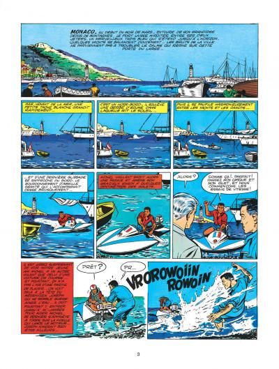 Page 3 Michel Vaillant tome 2 - le pilote sans visage
