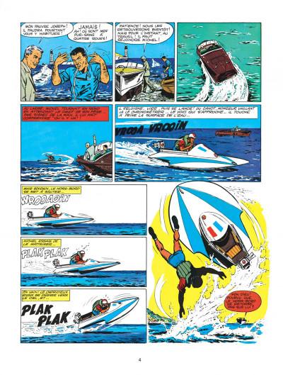 Page 4 Michel Vaillant tome 2 - le pilote sans visage