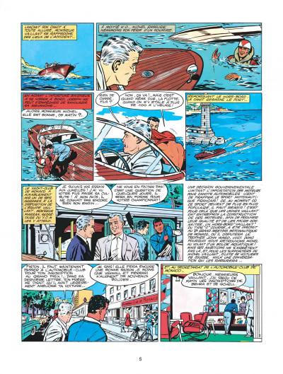 Page 5 Michel Vaillant tome 2 - le pilote sans visage