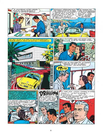 Page 6 Michel Vaillant tome 2 - le pilote sans visage
