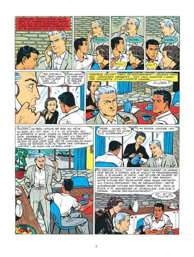 Page 7 Michel Vaillant tome 2 - le pilote sans visage