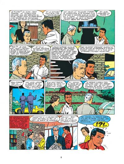 Page 8 Michel Vaillant tome 2 - le pilote sans visage