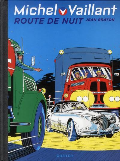 Couverture Michel Vaillant tome 4 - route de nuit