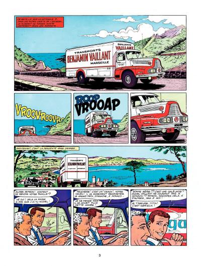 Page 1 Michel Vaillant tome 4 - route de nuit