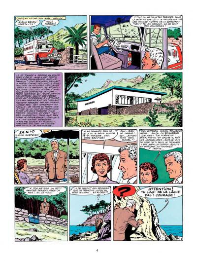 Page 2 Michel Vaillant tome 4 - route de nuit