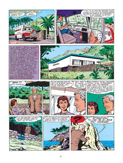 Page 4 Michel Vaillant tome 4 - route de nuit
