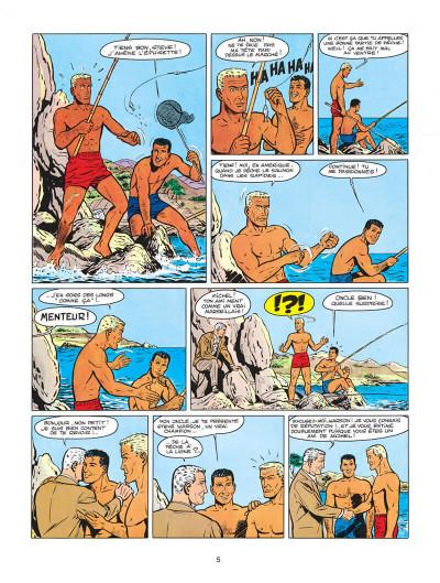 Page 5 Michel Vaillant tome 4 - route de nuit