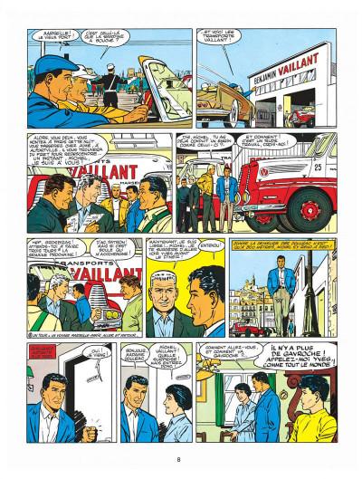 Page 8 Michel Vaillant tome 4 - route de nuit