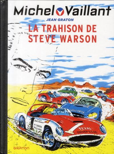 Couverture Michel Vaillant tome 6 - la trahison de Steve Warson