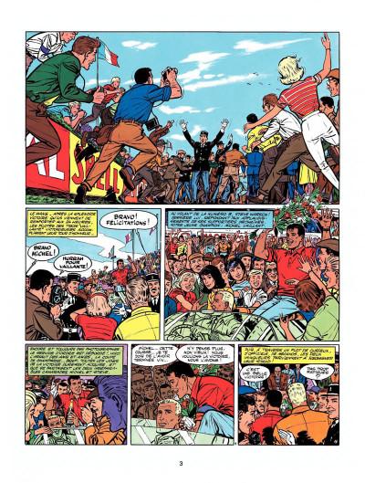 Page 1 Michel Vaillant tome 6 - la trahison de Steve Warson