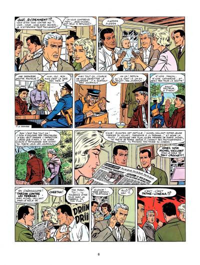 Page 4 Michel Vaillant tome 7 - le casse-cou