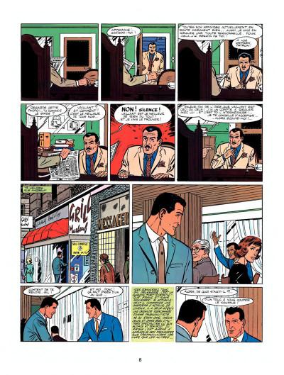 Page 6 Michel Vaillant tome 7 - le casse-cou