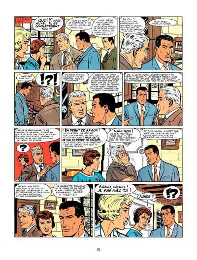 Page 8 Michel Vaillant tome 7 - le casse-cou