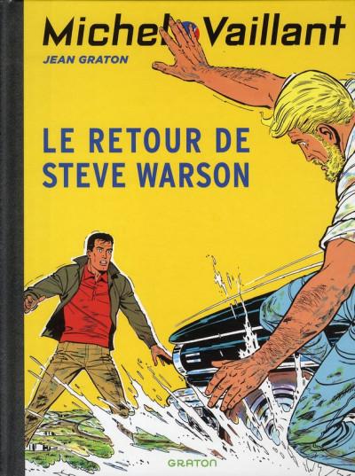 Couverture Michel Vaillant tome 9 - le retour de Steve Warson